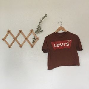 VTG Cropped Levi's Tee